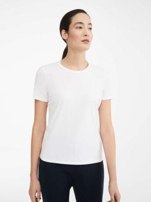 Max Mara - VAGARE - T-shirt bianca