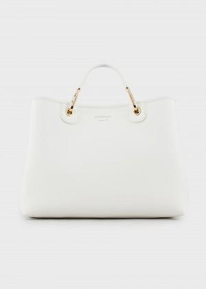 Emporio Armani Y3D165YFO5B185219 Shopper MyEA Bag stampa cervo