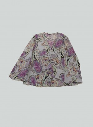 Etro 201D1360544000250 Top stampa Paisley