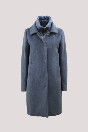 Herno CA0120D-38150-9050 Cappotto Teal