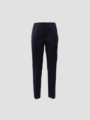 Les Copains A200L30700188 Pantalone platinum tela tecnica elastico dietro blu