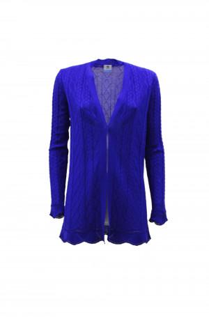 M Missoni 2DM001422K008F93951 Cardigan lungo blu