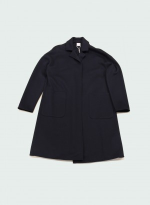 Max Mara 39010106600 FOLGORE Spolverino in jersey blu