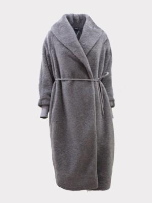 Max Mara 3906090606003 Cappotto in jersey MATASSA grigio scuro