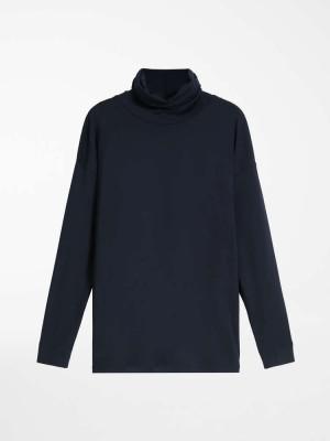Max Mara 3946111606001 T-shirt in jersey di viscosa ANTONY blu