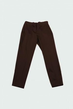 Clips Tricot - Pantalone Capri in cotone Caffè noir