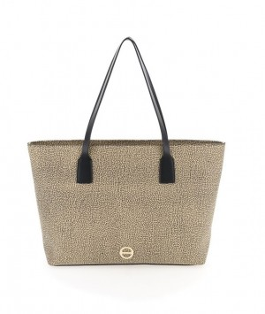 Borbonese - Shopping Bag Large colore OP naturale