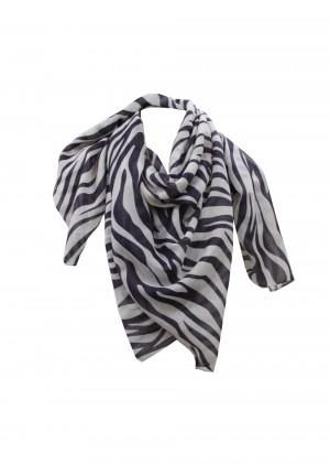 Borbonese 6DT004V99080 Sciarpa zebra