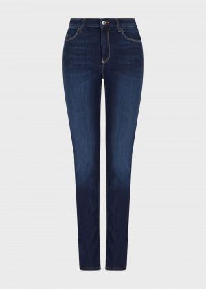Emporio Armani 3K2J182DE9Z10941 Jeans J18 slim fit in denim stretch used wash