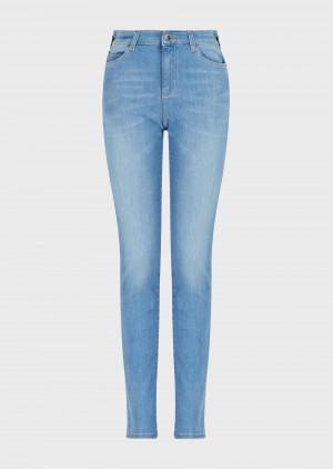 Emporio Armani 3K2J182DE9Z10943 Jeans J18 slim fit in denim stretch used wash