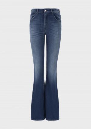 Emporio Armani 3K2J472DD9Z10941 Jeans J47 flare regular fit in denim soft touch used