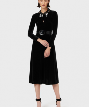 Emporio Armani - Vestito lungo nero