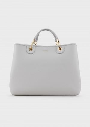 Emporio Armani Y3D165YFO5B185175 Shopper MyEA Bag stampa cervo