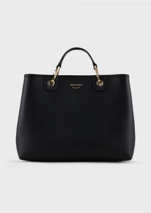 Emporio Armani Y3D165YFO5B185218 My EA Bag stampa cervo nero
