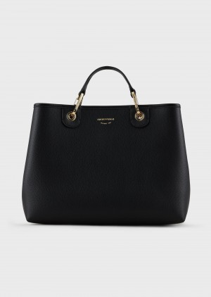 Emporio Armani Y3D165YFO5B185218 Shopper MyEA Bag stampa cervo