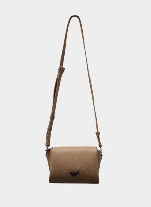Emporio Armani Y3H230YFN6E185215 Mini case bag a tracolla con placchetta aquila