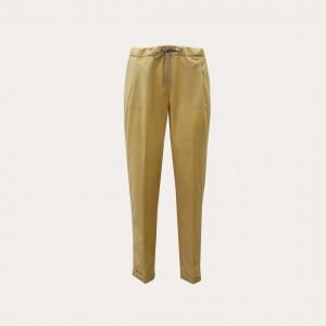 Fabiana Filippi PAD260W855-0000-A602-756 Pantalone spello in lana, zafferano