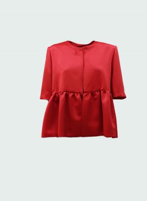 Giada Curti 20CCRD23 Giacchino Duchesse rosso