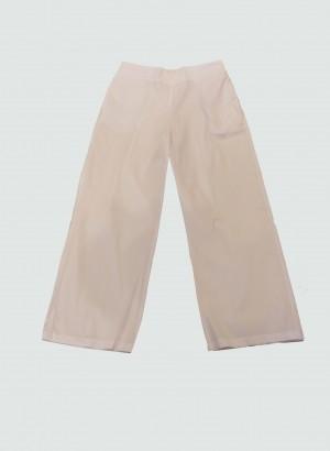 Hubert Gasser EP0041WHITE Pantalone bianco