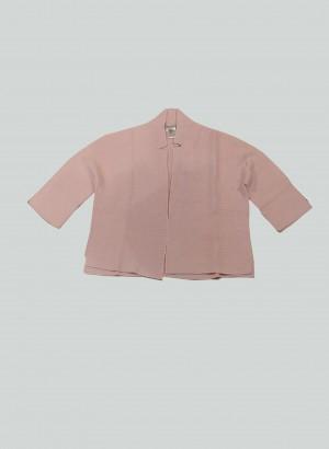 Hubert Gasser PE2129181LIGHTPINK Cardigan corto rosa
