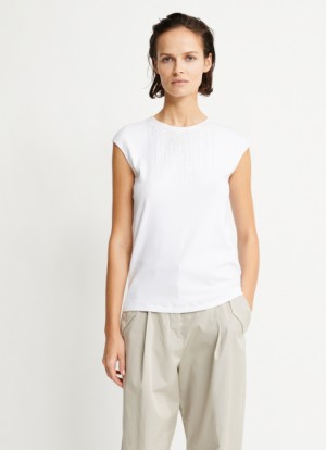 Fabiana Filippi - Top in cotone, bianco
