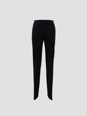 Les Copains A200L30800131 Pantalone flair basic jersey nero