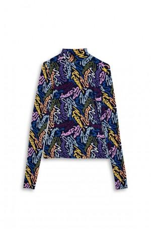M Missoni 2DL000482J003NS70J9 T-Shirt Manica Lunga