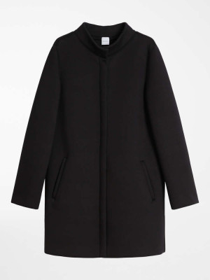Max Mara 3906031606001 Cappotto in jersey di viscosa CIRO nero
