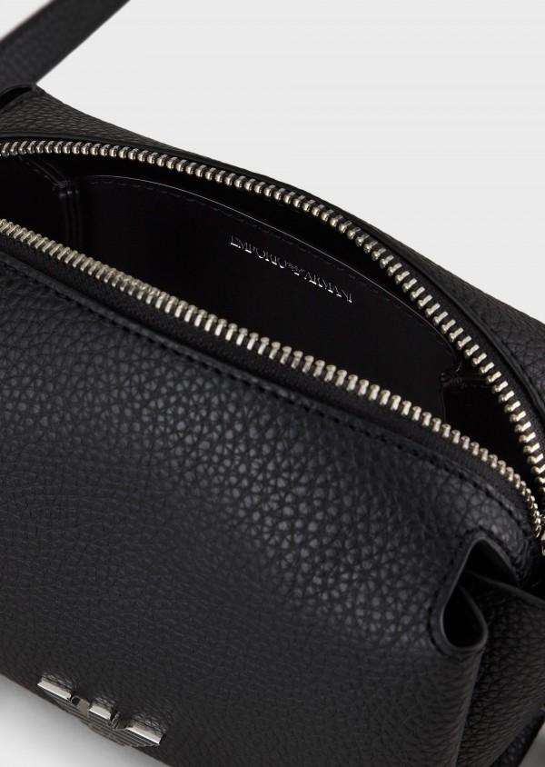Emporio Armani Y3H230YFN6E181386 Mini case bag a tracolla con placchetta aquila